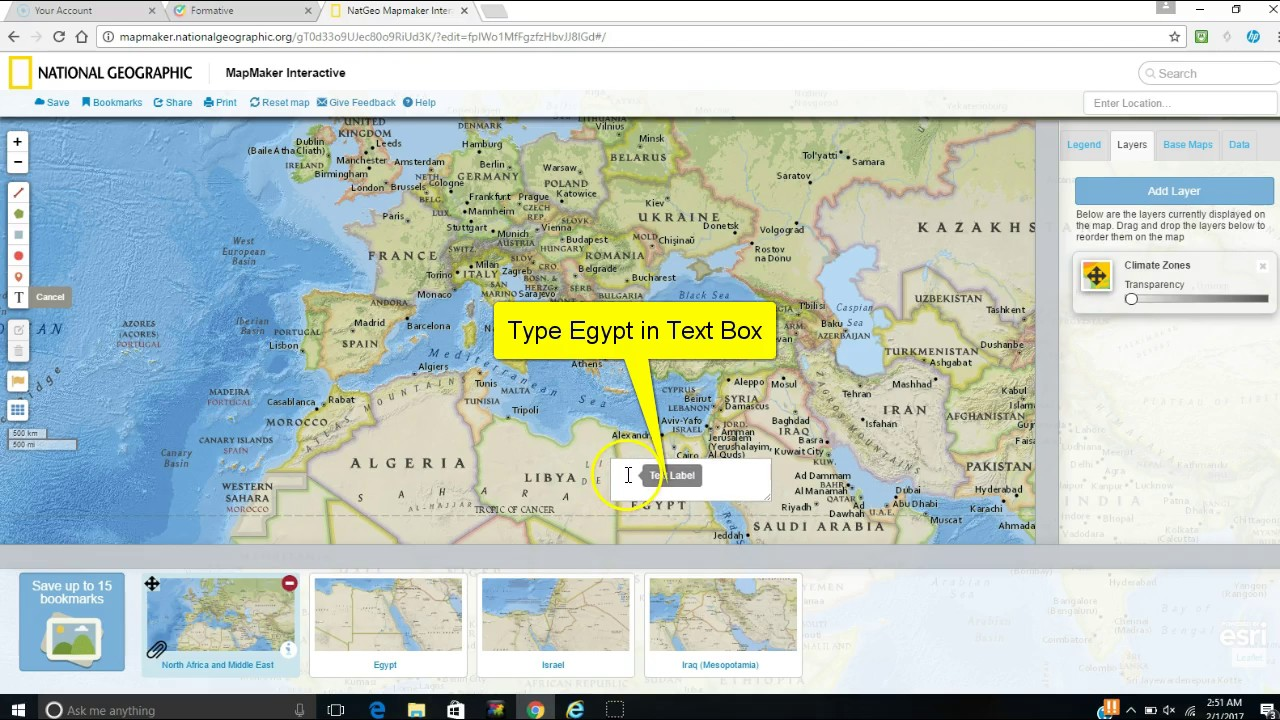 World Geography Mapmaker for North Africa and Middle East YouTube