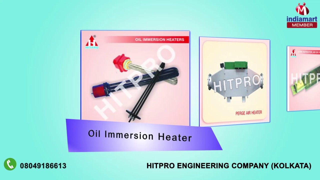 Industrial Heater And Heating Equipment by Hitpro Engineering ...