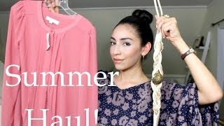 Summer Shopping Haul !  | AdrianneViz Thumbnail