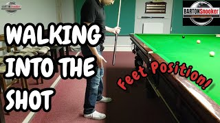 Snooker Training - The Walk In - Snooker Coaching Lesson