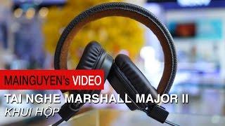 Khui hộp tai nghe Marshall Major II - www.mainguyen.vn