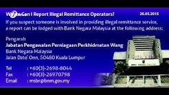 Bank Negara Malaysia Uses Multi Pronged Strategy To Deal With Illegal Remittance Operators