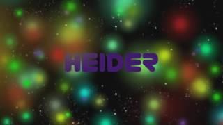 Intro Para Heider00705TM / Espero que te guste!!