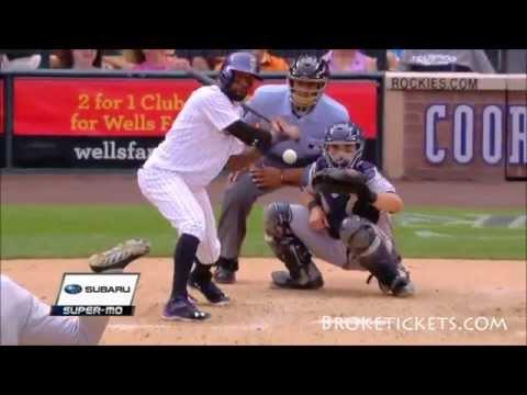 Jose Reyes Colorado Rockies Highlights 2015 HD