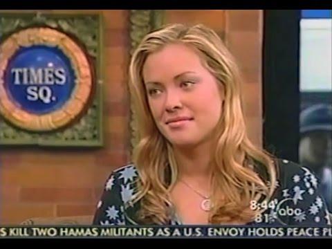 ABC Good Morning America   Kristanna Loken Terminator 3  2003
