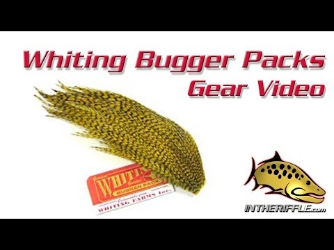 Whiting Woolly Bugger Packs Fly Tying Feathers