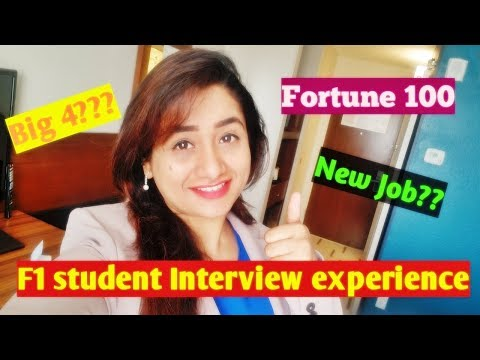 Did I make it BIG ? Career Update | F1 student Job Interview Experience in USA
