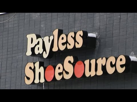 Liquidation sales starting at all Payless Shoe stores
