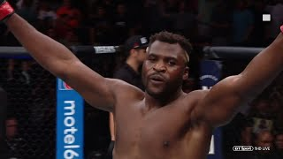 Francis Ngannou knocks out Junior dos Santos in 70 seconds! (Full fight)