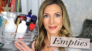 Empties! A Trip Through My Trash January 2019