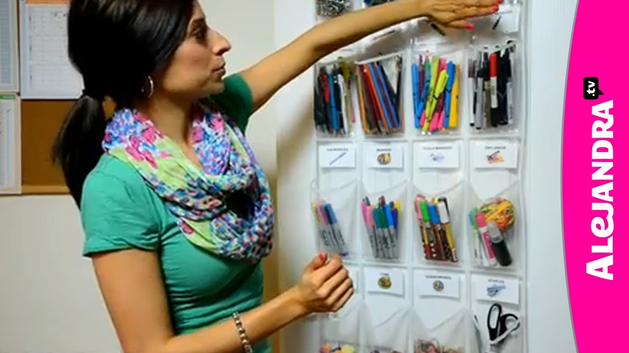 School Supply Organization: How To Organize Small Supplies At Home   YouTube