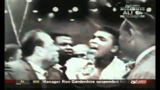 Muhammad Ali - I shook up the world.