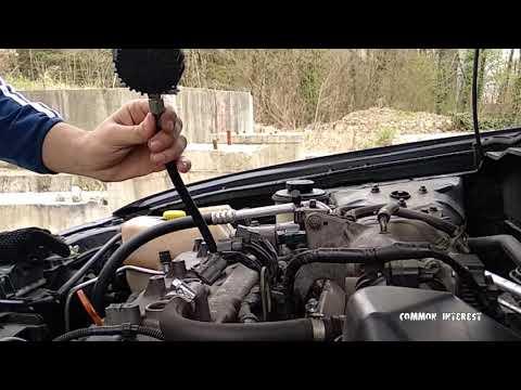 Диагностика двигателя с помощью показаний компрессии