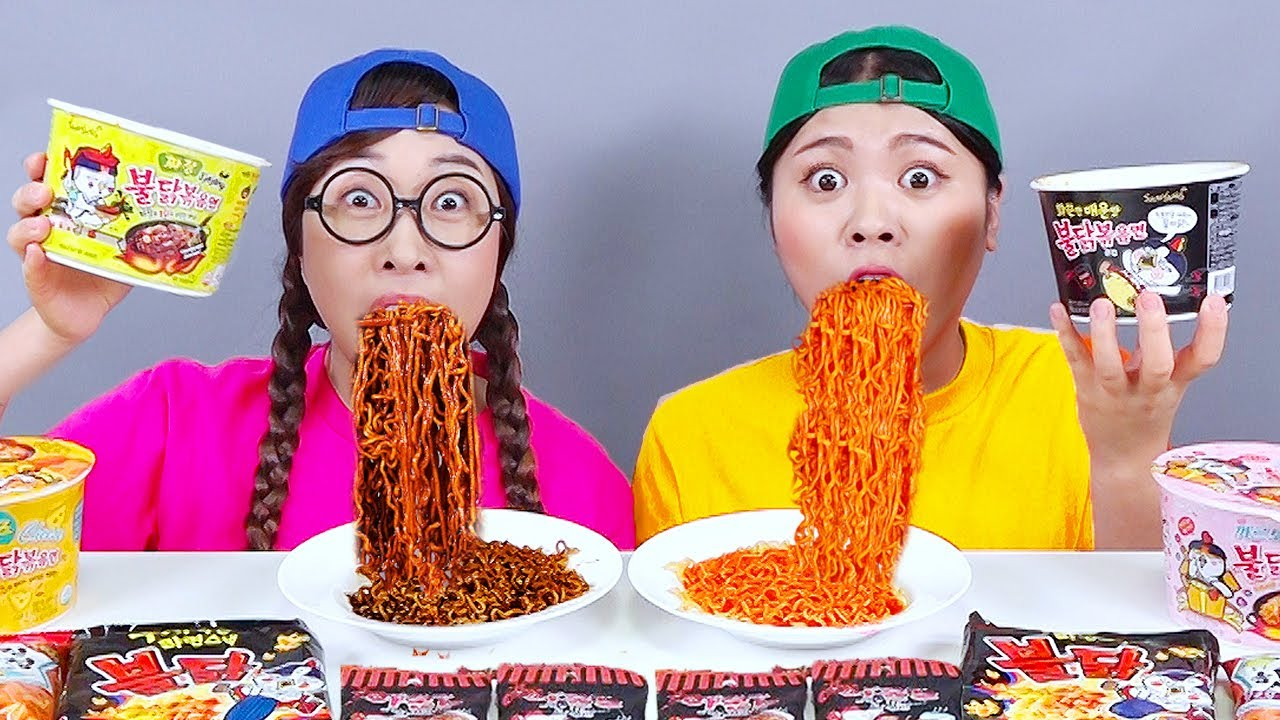 Download Spicy Food Fire Noodle Mukbang DONA