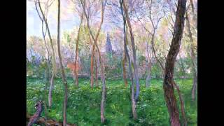 Mario Lanza - Trees - Claude Monet