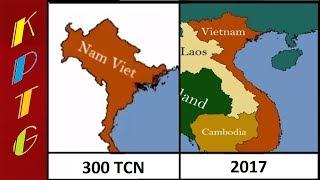 Bản Đồ Việt Nam Từ 2300 Năm Trước Đến Nay Chưa Từng Ai Biết