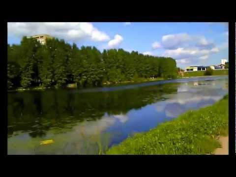 Мазиловский пруд (Москва, метро Пионерская) лето 2012