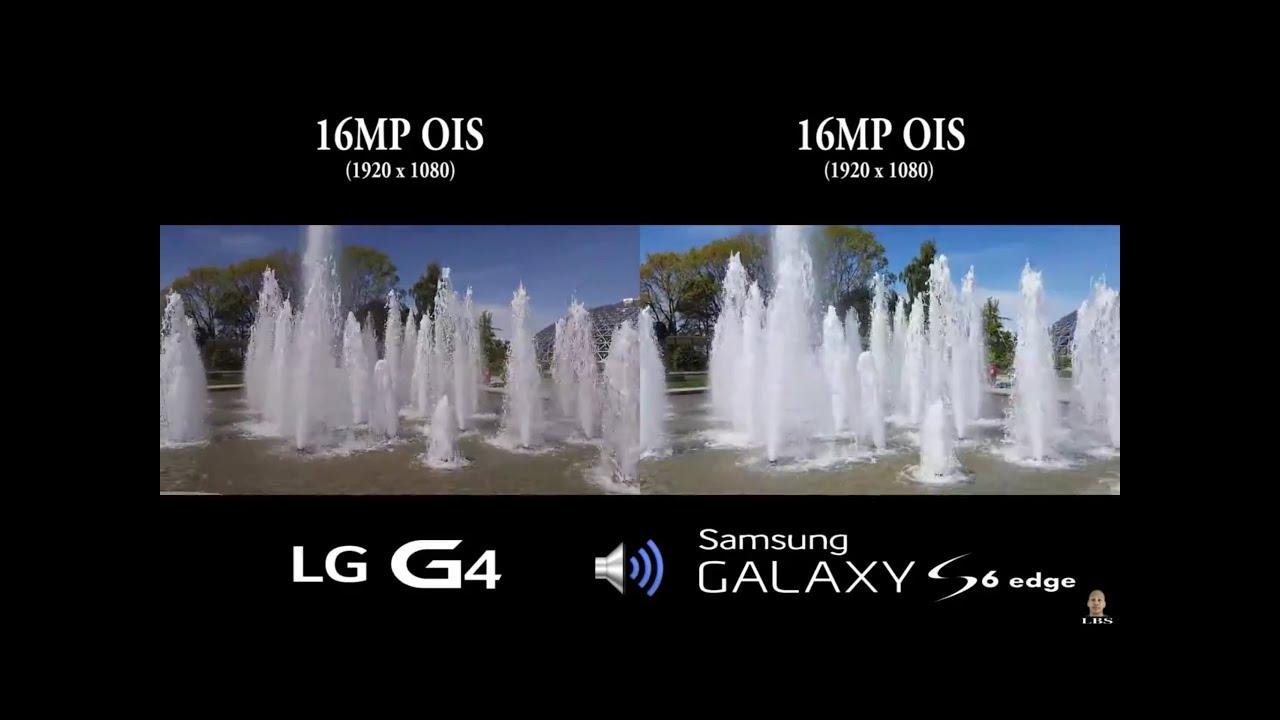 LG G4 Vs Galaxy S6 Edge