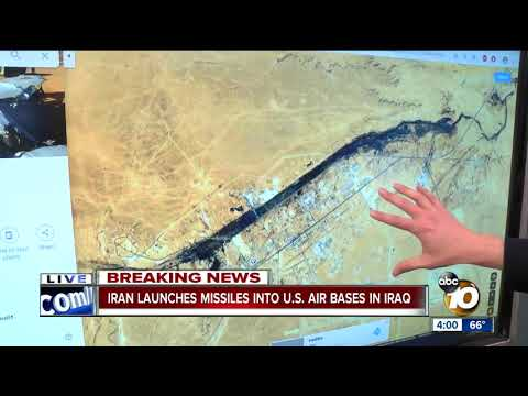Iran Launches Missiles Into U.S. Air Base In Iraq