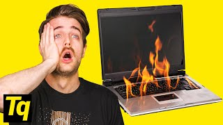 Is YOUR Laptop Too Hot?