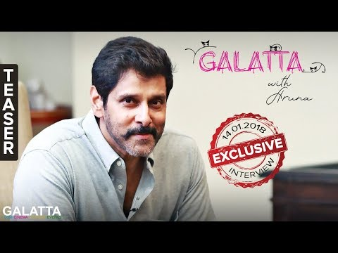 Chiyaan Vikram Special Interview | Galatta with Aruna | Teaser