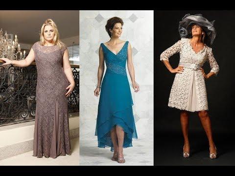 1ff32bb17 vestidos Elegantes para señoras de 50 a 60 años a mas