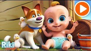 Как говорят животные? Детская развивающая песенка мультик для малышей