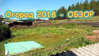 Обзор огорода 2018г. Что выросло. (08.18г.) Семья Бровченко.