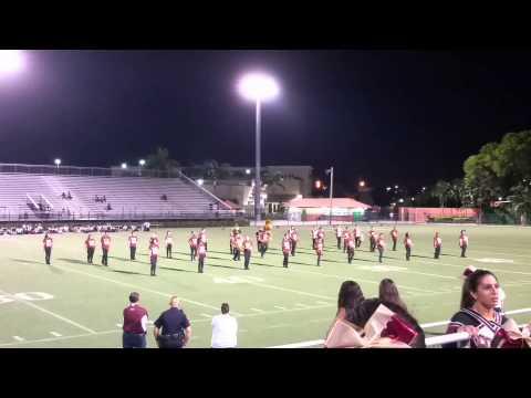 Barbara Goleman Senior High School 1/2 time show;