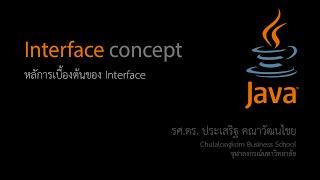 สอน Java: การใช้งาน Interface เบื้องต้น