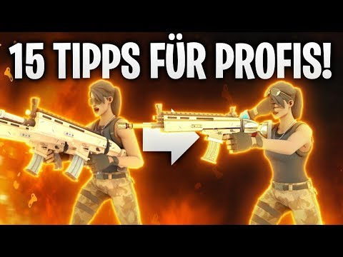 15 TIPPS & TRICKS FÜR PROFIS! 🏆   Fortnite: Battle Royale