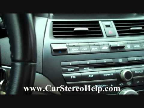 Car Stereo Installation Diagram Saab 9 3 Headlight Wiring Honda Accord Bose Audio Removal 2008 2012 Replace 6 Cd Repair Youtube
