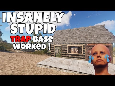 RUST | TOOL CUPBOARD TRAP BASE LURE! *SO MANY CAUGHT OUT!*