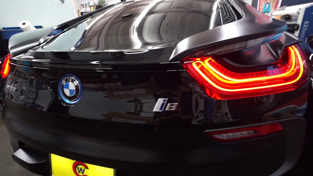 How To Tint A Bmw I8 Back Half Youtube