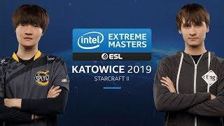 SC2 - Stats [P] vs. Neeb [P] - Quarterfinal - IEM Katowice 2019