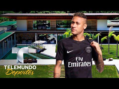 Así es el paraíso donde se recupera Neymar | Deporte Rosa | Telemundo Deportes