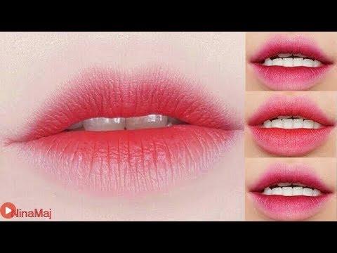 3 Korean Gradient Lips - How To 3 Gradient Lips - YouTube