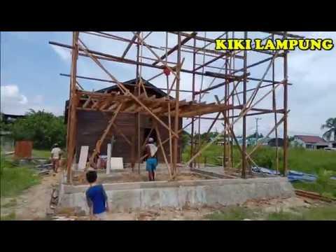Lanjutan Pembuatan Rumah Burung Walet Ukuran 4 X 8 Youtube
