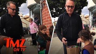 Tom Hanks Loads Up on Girl Scout Cookies | TMZ TV