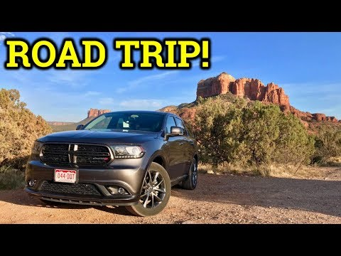 Dodge Durango GT Road Trip Review + Vacation Video