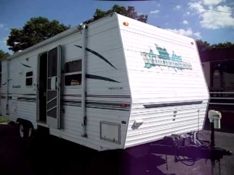 2001 Fleetwood Wilderness 26H Travel Trailer For Sale - YouTube