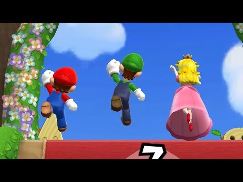 Mario Party 9 Step It Up - Mario, Luigi, Peach vs Toad Master Difficulty Gameplay | GreenSpot