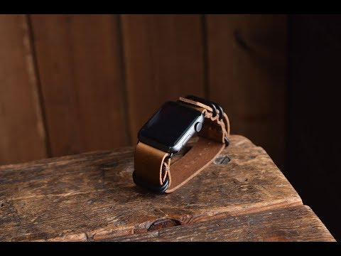 Adjust Length On Apple NATO Watch Strap From Craft And Lore Leather Goods