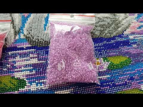 Лебеди схема вышивка бисером