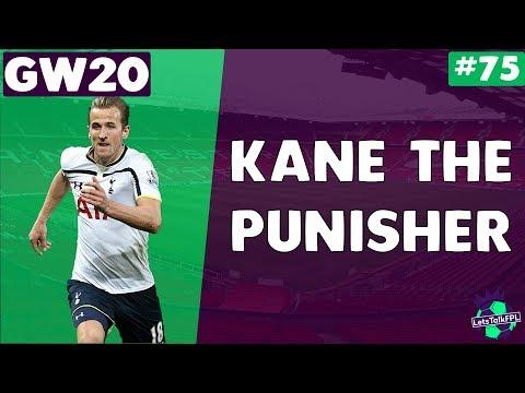 KANE THE PUNISHER | Gameweek 20 | Let's Talk Fantasy Premier League 2017/18 | #75