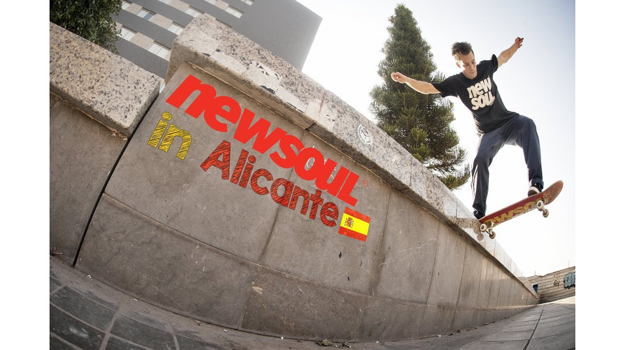 1c627caa6ad Newsoul Skateboards - Alicante - YouTube