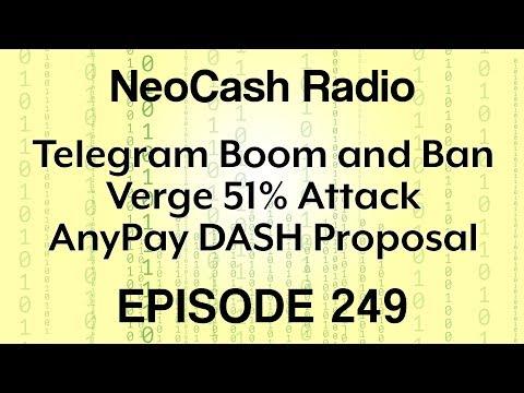 Ep249 Telegram ICO, Verge Hack, Centra Update, and Chicken on Blockchain