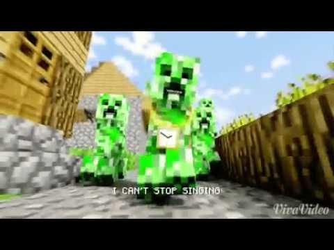 Creeper Rap Minecraft Song Youtube