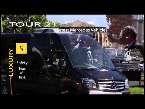 (Small Tour Bus Rental California) Mercedes Benz Sprinter-Grand Glen Bryce Canyon Yosemite