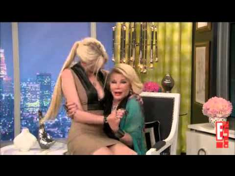 Taylor Momsen on the 'Fashion Police' with Joan Rivers p2